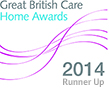 Great British Care Homes Awards 2014 Runner Up